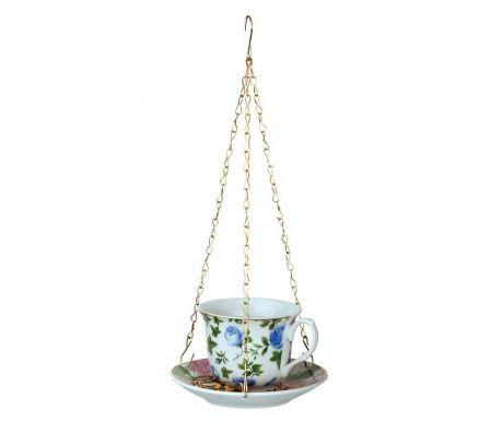 Hranitoare pentru pasari Tea  Blue Roses