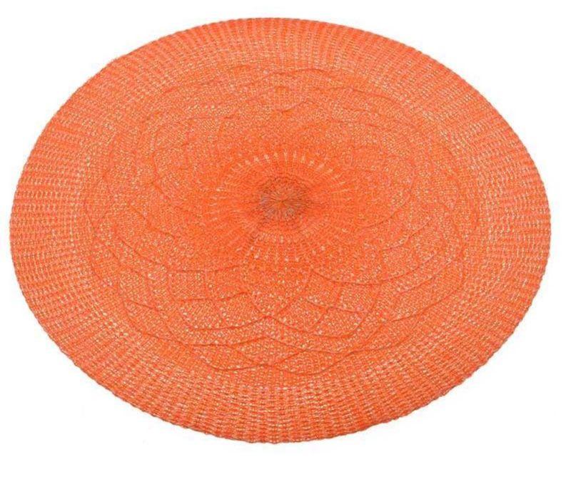 Set 6 pogrinjkov Flower Orange 38 cm