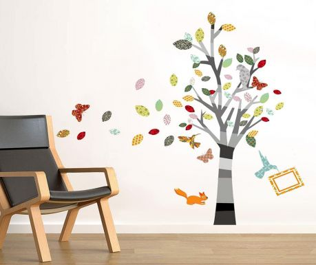 Стикер Colourful Photo Tree