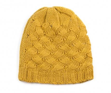 Czapka unisex Knit Mustard Yellow 54-56 cm
