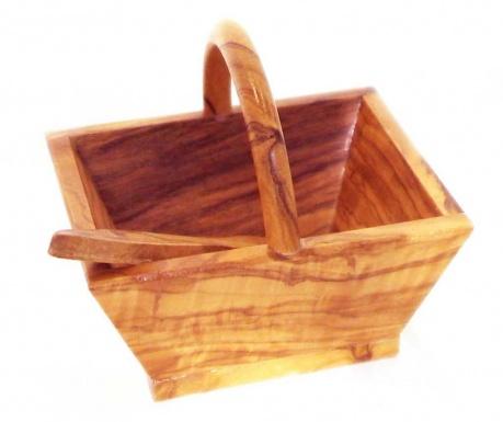 Zestaw koszyk i szpatułka Olivo