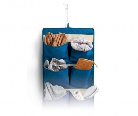 Nástenný úložný diel Aldo Blue Pockets
