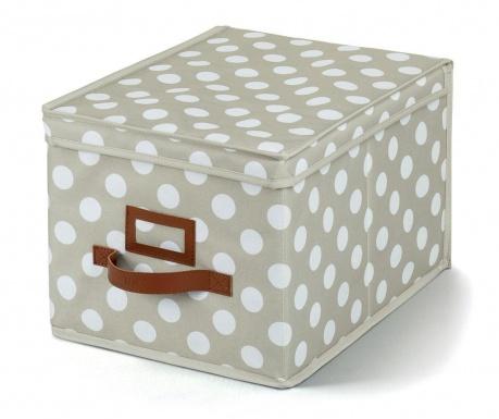 Pudełko do przechowywania z pokrywką Jolie Cream S