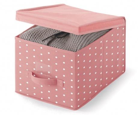 Κουτί με καπάκι για αποθήκευση Vintage Pink