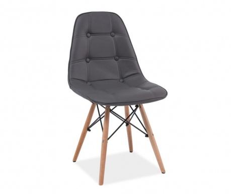 Krzesło Button Charles Grey