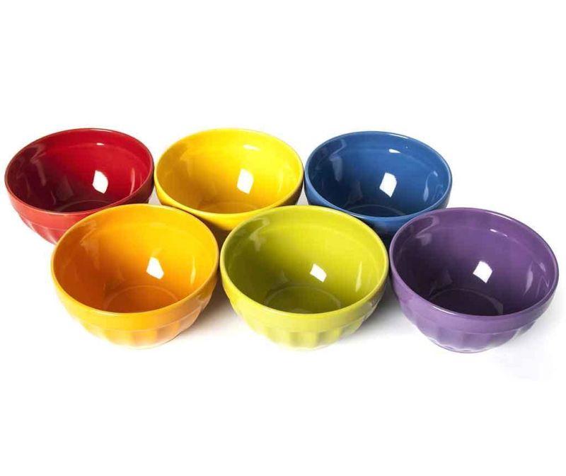 Set 6 skledic Rainbow 550 ml
