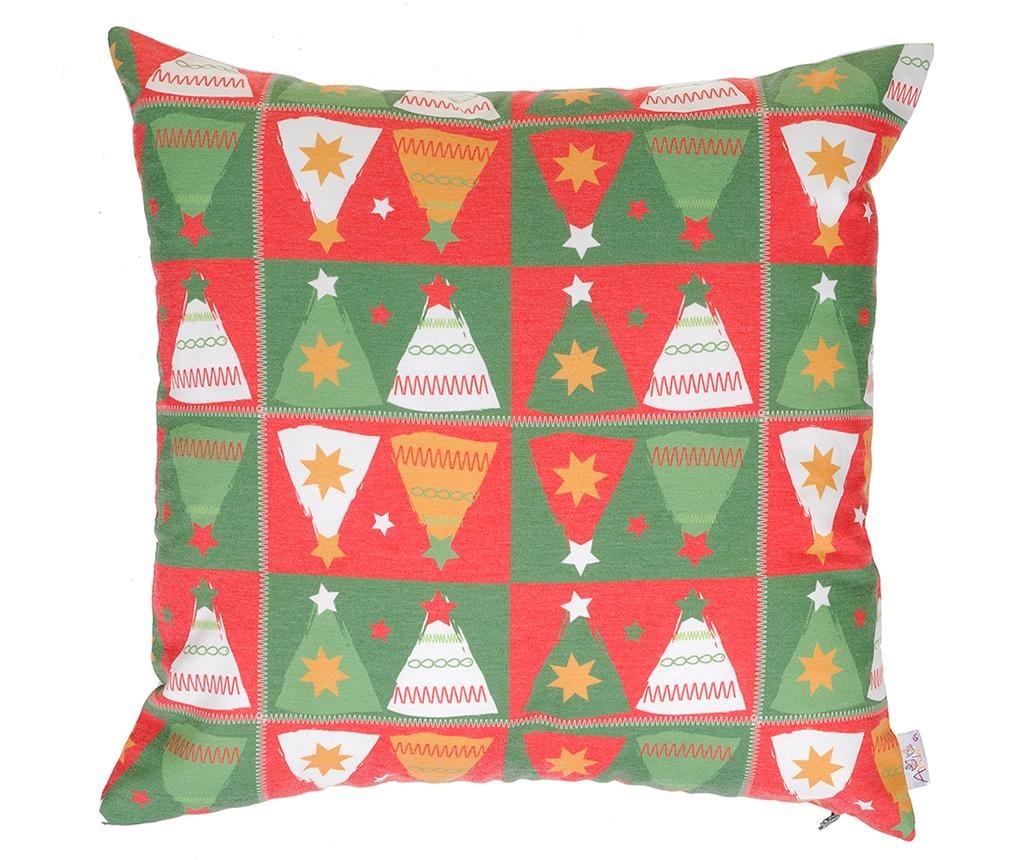 Jastučnica Joyful Christmas Trees 43x43 cm