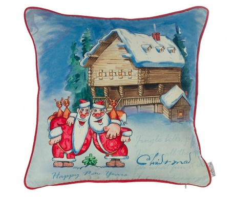 Fata de perna Friendly Christmas 43x43 cm