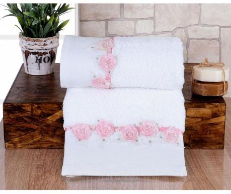 Ręcznik kąpielowy Romantic Light Pink 50x90 cm