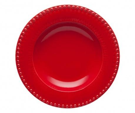Fantasia Red Tésztás tányér