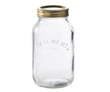 Preserve Befőttesüveg fedővel 1 L