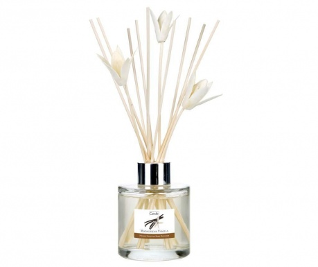 Zestaw dyfuzor z olejkami eterycznymi i patyczki Elegance Madagascar Vanilla 100 ml