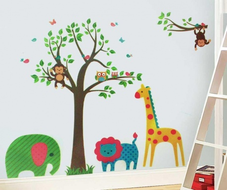 Стикер Lovely Animals by The Tree