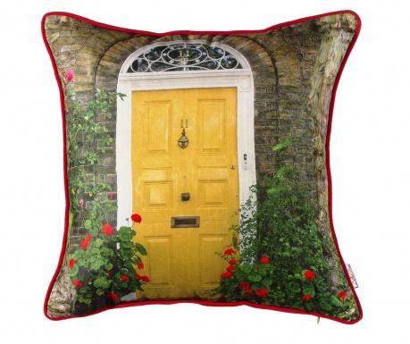 Poszewka na poduszkę Yellow Door 43x43 cm