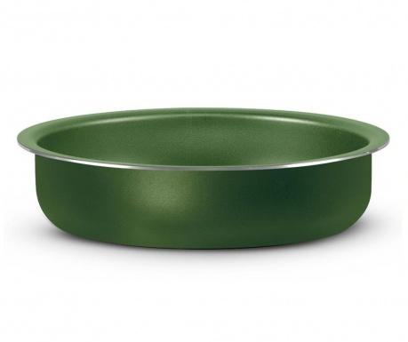 Total Round Green Sütőtepsi