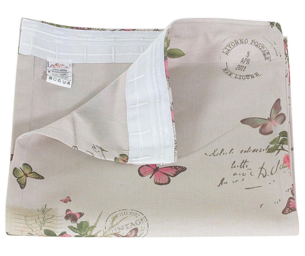 Závěs Romantic Butterflies 140x270 cm