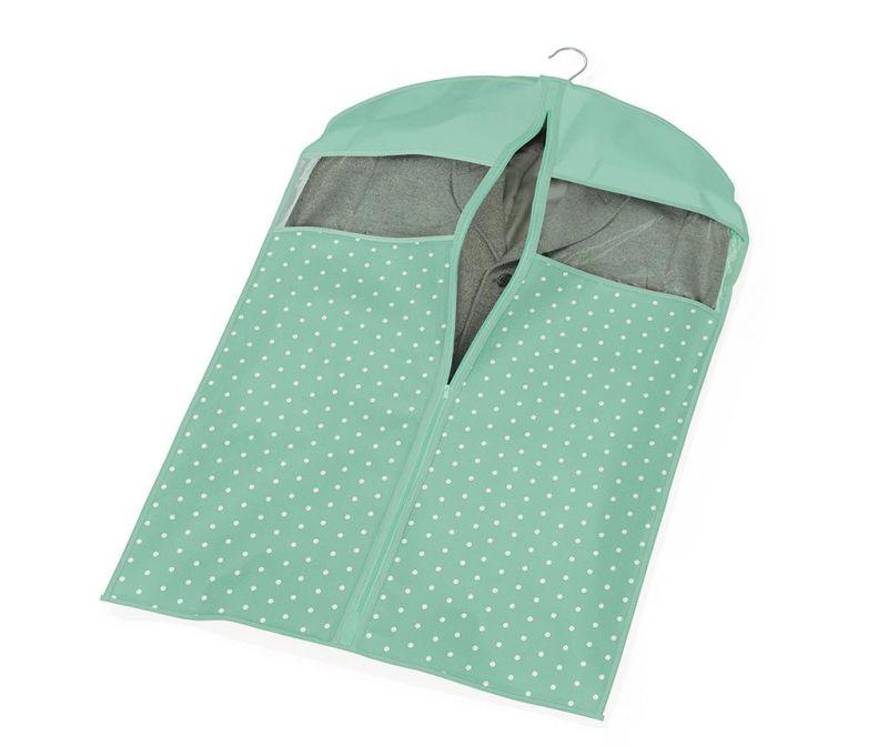 Husa pentru haine Vintage Green 60x100 cm