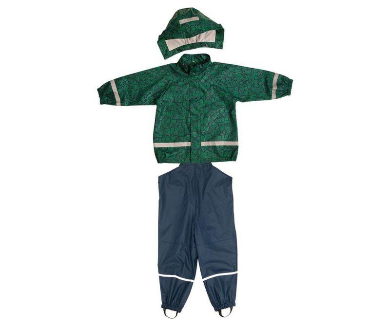 Dětská sada nepromokavá bunda a overal Bimo Marine 10 měs.
