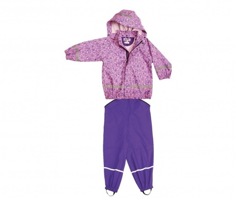 Bimo Mauve Vízhatlan gyerek kabát és overál
