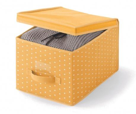 Κουτί με καπάκι για αποθήκευση Vintage Orange