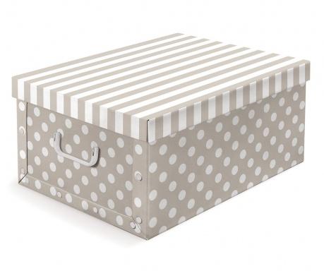 Škatla za shranjevanje s pokrovom Trend Beige