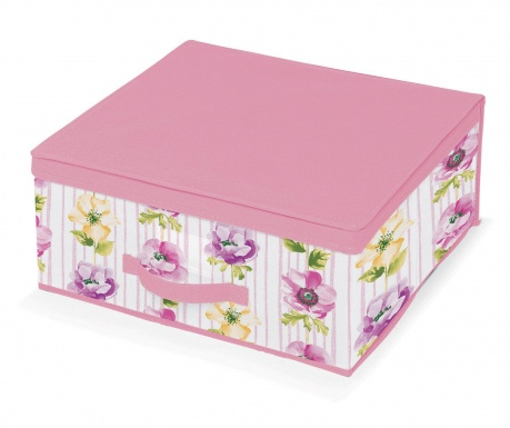 Κουτί με καπάκι για αποθήκευση Beauty Flowers M