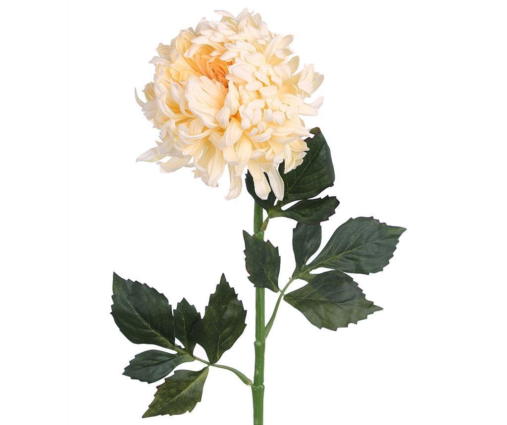 Umetni cvet Chrysanthemum Cream