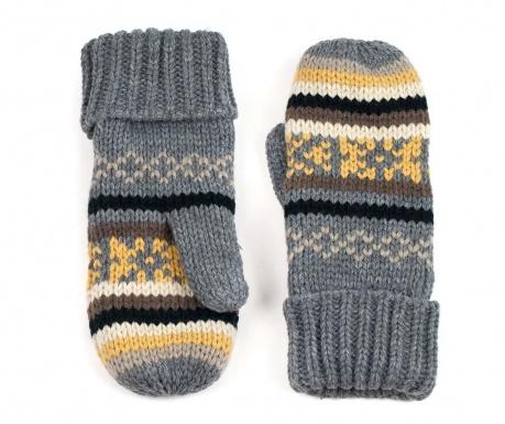 Rękawiczki damskie Maomi Yellow
