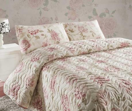 Pikowany zestaw na łóżko Single Wild Roses