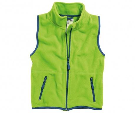 Dětská vesta Perfect Green 9-12 měs.