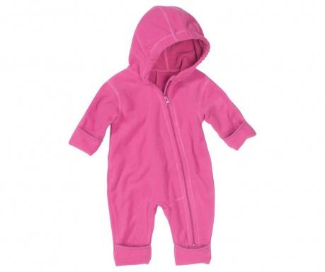 Salopeta copii Nova Cold Light Pink 8 luni