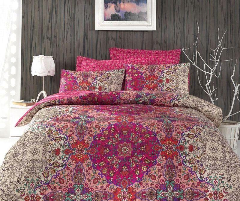 Set posteljina King Satin Supreme Tugba 200x220