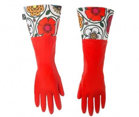 Γάντια οικιακής χρήσης Frida Red