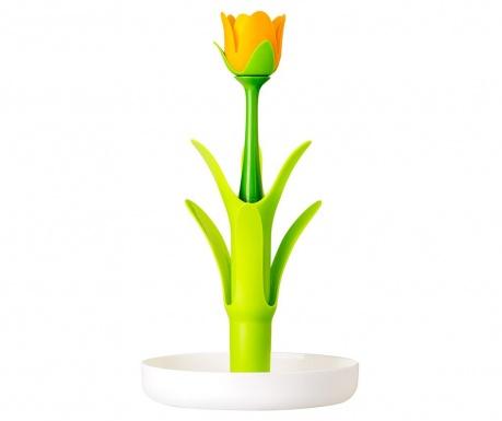 Βάση για κούπες και ποτήρια Flower Power Green