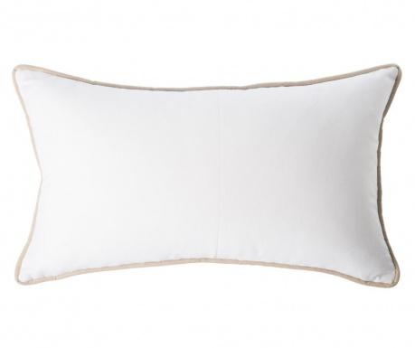 Dekoračný vankúš Vivo White Wide 40x60 cm