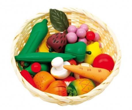 Set košara sa voćem i povrćem Market Time