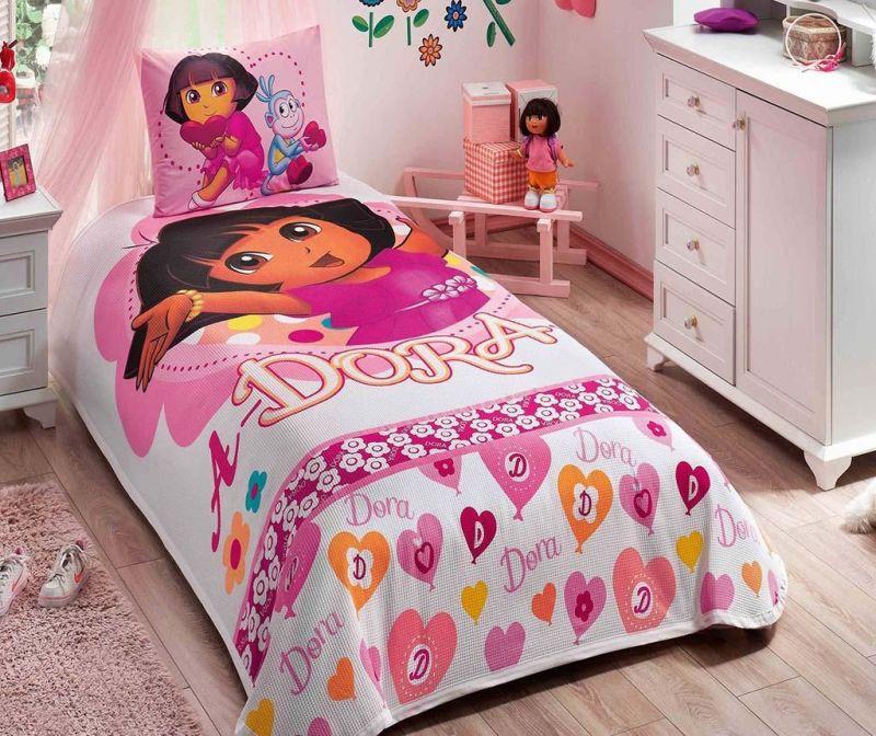 Ložní povlečení Single Pique Dora Adorable
