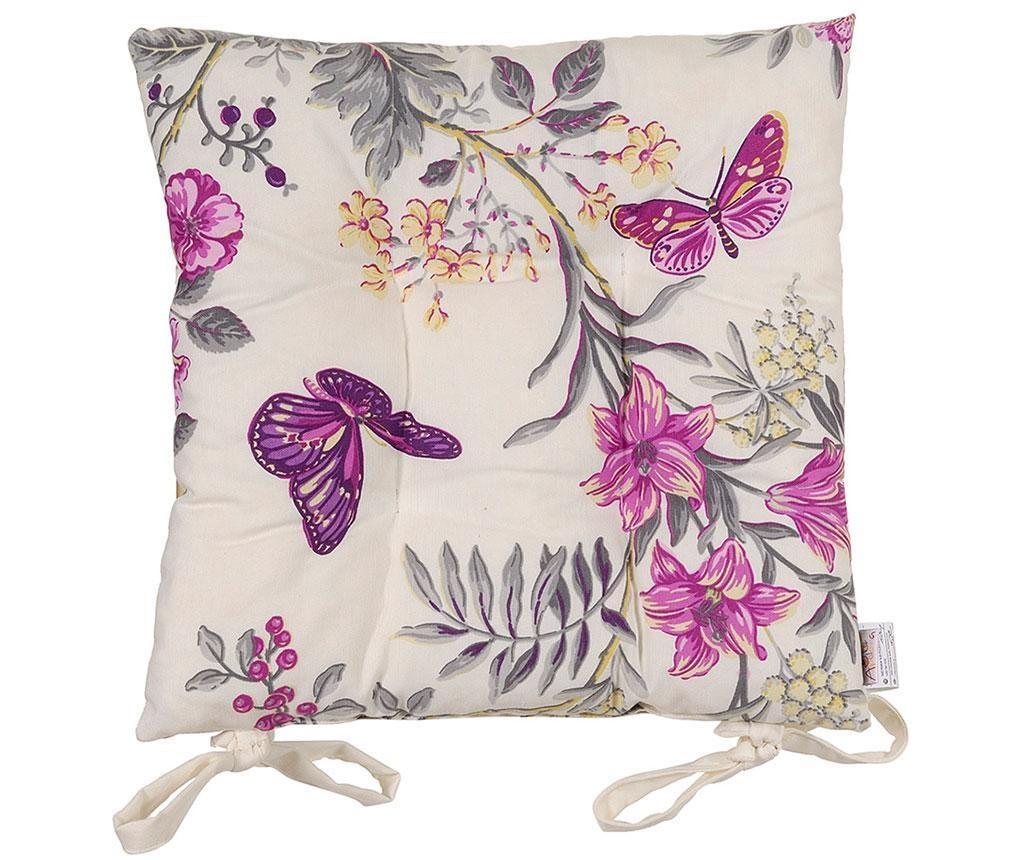 Perna de sezut Purple Butterfly 37x37 cm