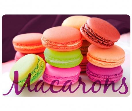 Individual Macarons 28.5x44 cm