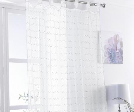 Zavesa Zig White 138x225 cm