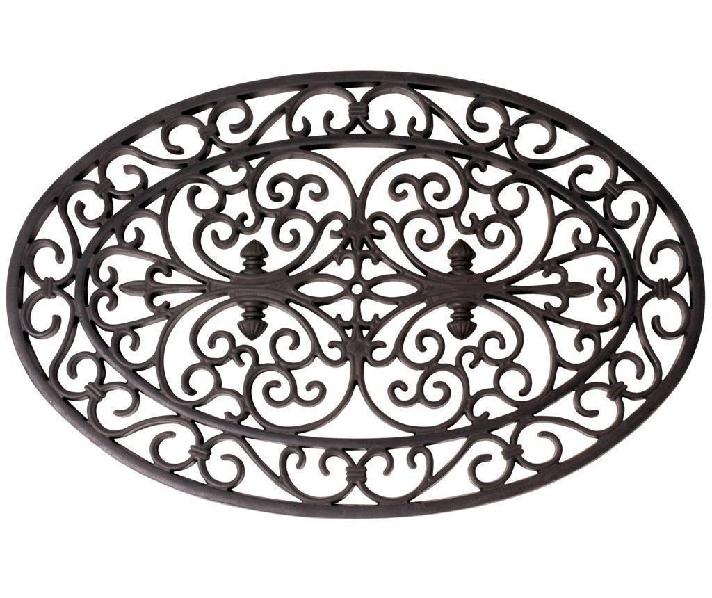 Vchodová rohožka Black Motif 44.3x69.5 cm