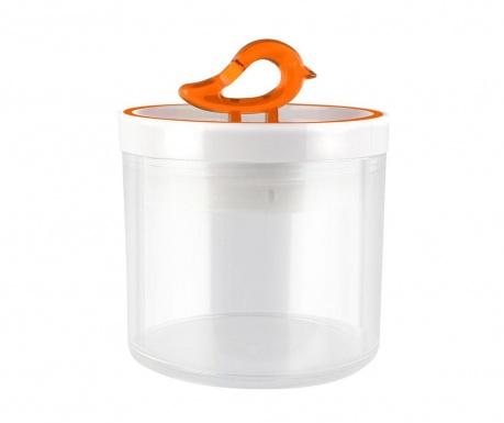 Livio Bird Orange Tároló fedővel 400 ml