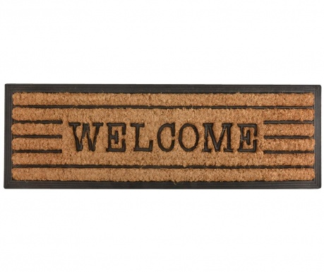 Covoras de intrare Welcome Stripes 25x75 cm