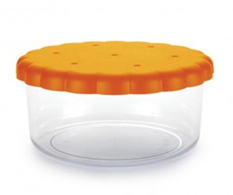 Round Biscuits Tároló fedővel keksznek 1.8 L