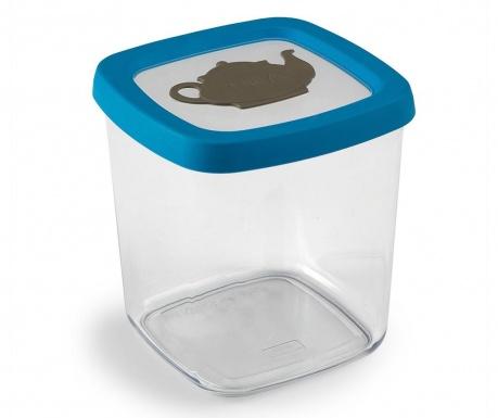 Airtight Tároló fedővel teának 1 L