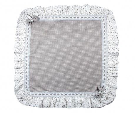 Fata de masa Ribbons Grey 100x100 cm