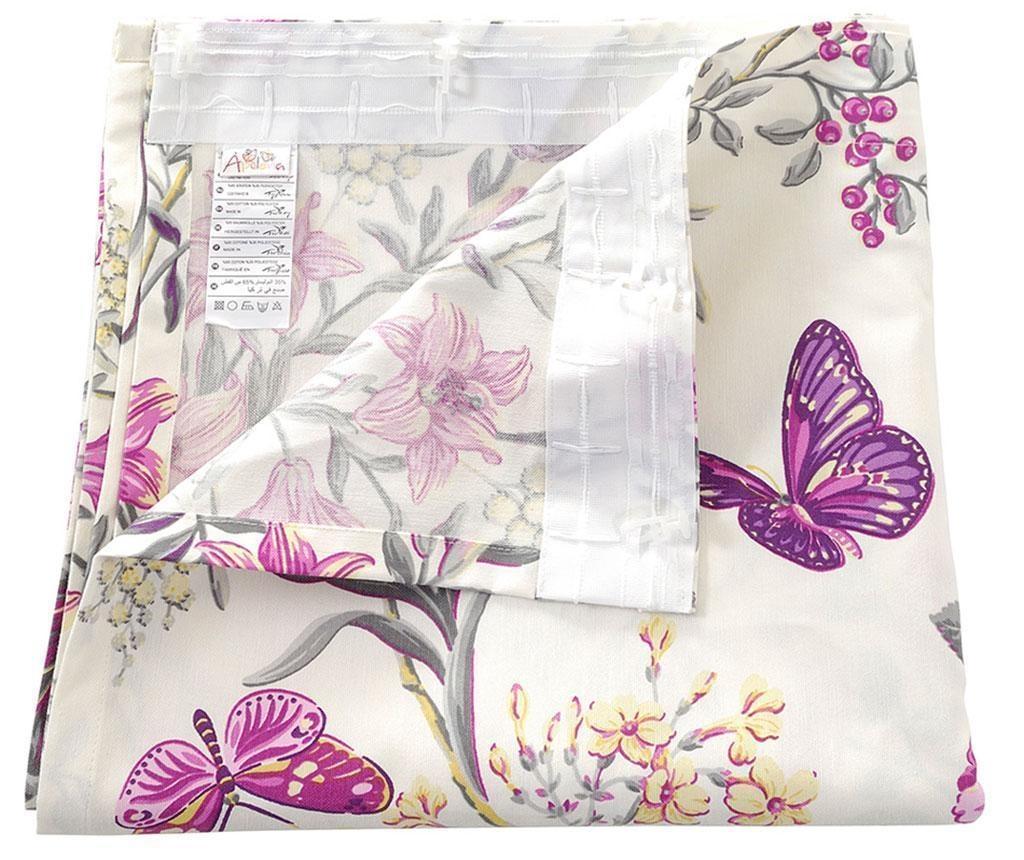 Záves Purple Butterfly 135x270 cm