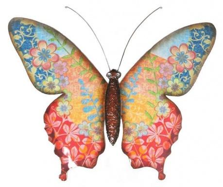 Flowery Butterfly Fali dekoráció
