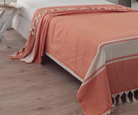 Prikrývka Elmas Orange 200x240 cm