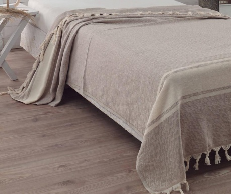 Narzuta Elmas Light Brown 200x240 cm
